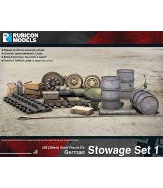 Rubicon Models German Stowage Set 1