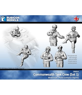 Rubicon Models Commonwealth Tank Crew