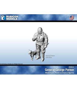 Rubicon Models General George Patton with Willie
