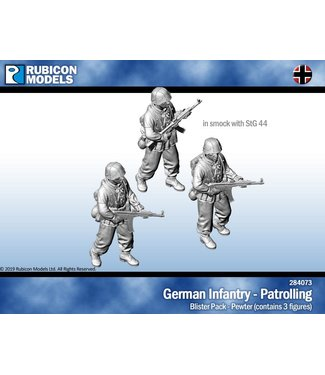 Rubicon Models Germans in Smocks with StG44 - Patrolling