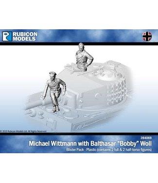 "Rubicon Models Michael Wittmann & Balthazar ""Bobby"" Woll"