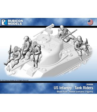 Rubicon Models US infantry - tank Riders