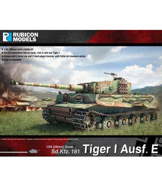 Rubicon Models Tiger I Ausf E