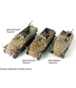 Rubicon Models SdKfz 250/8 & 251/9 (upgrade kit)