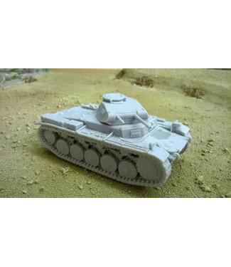 Blitzkrieg Miniatures Panzer II Ausf F - 1/56 Scale