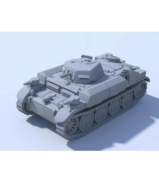 Blitzkrieg Miniatures Panzer II Flamingo - 1/56 Scale