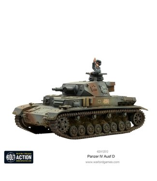 Bolt Action Panzer IV Ausf D