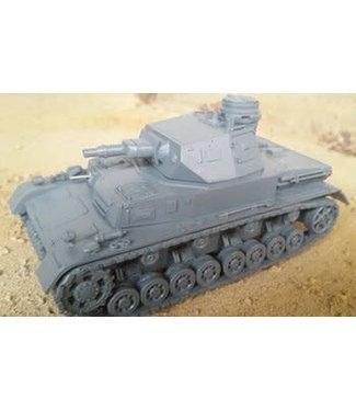 Blitzkrieg Miniatures Panzer IV Ausf D - 1/56 Scale