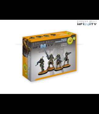 Infinity Zhayedan Intervention Troops