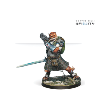 Infinity Tearlach McMurrough (2 Chain Rifle, Templar CCW)