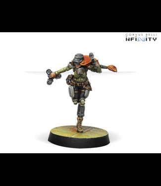 Infinity Warcors, War Correspondents (Stun Pistol)