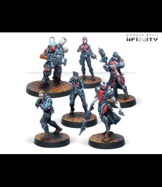 Infinity Tunguska Jurisdictional Command (Nomads Sectorial Starter Pack)