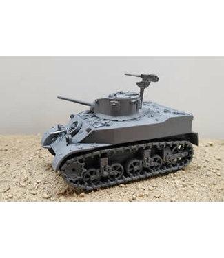 Blitzkrieg Miniatures M5 Stuart - 1/56 Scale