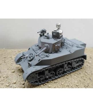 Blitzkrieg Miniatures M5 Stuart Late Production - 1/56 Scale