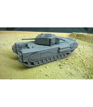 Blitzkrieg Miniatures Churchill MK IV - 1/56 Scale