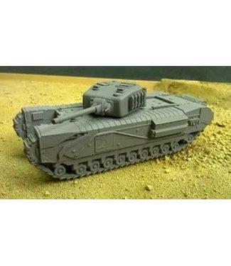 Blitzkrieg Miniatures Churchill NA75 - 1/56 Scale