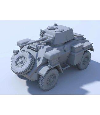 Blitzkrieg Miniatures Humber Armoured Car MK II - 1/56 Scale