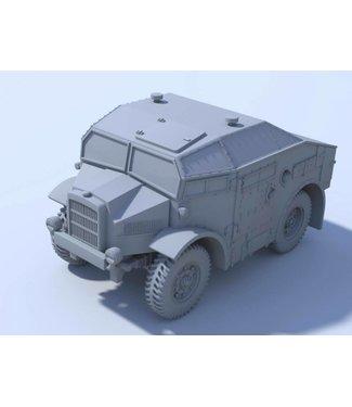 Blitzkrieg Miniatures Morris C8 Quad MK I - 1/56 Scale