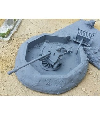 Blitzkrieg Miniatures Pheasant 17pdr Anti Tank Gun - 1/56 Scale