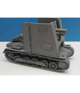 Blitzkrieg Miniatures 15 cm SIG 33 (Bison) - 1/56 Scale