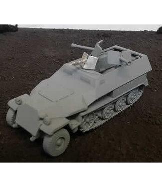 Blitzkrieg Miniatures 251/16 Ausf C - 1/56 Scale