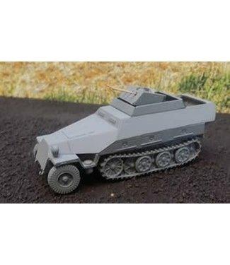 Blitzkrieg Miniatures 251/21 Drilling Ausf D - 1/56 Scale