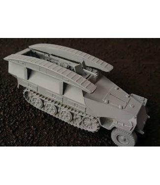 Blitzkrieg Miniatures 251/7 Pioneer Wagon Ausf D - 1/56 Scale