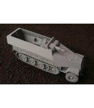 Blitzkrieg Miniatures 251/Ausf D Early Stummel - 1/56 Scale