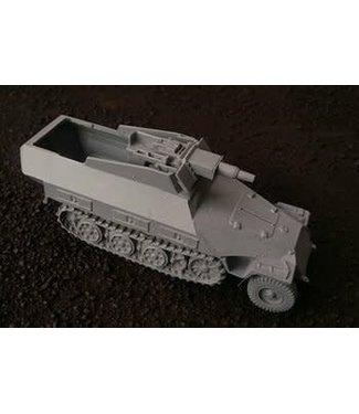 Blitzkrieg Miniatures 251/Ausf D Late Stummel - 1/56 Scale