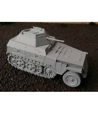Blitzkrieg Miniatures Neu 250/9 Halftrack - 1/56 Scale