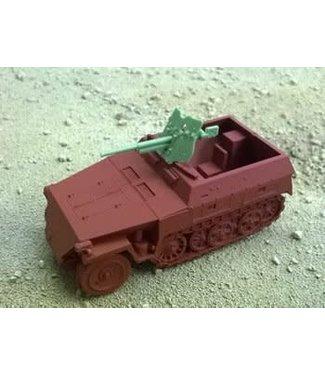 Blitzkrieg Miniatures Neu 250/10 Halftrack - 1/56 Scale