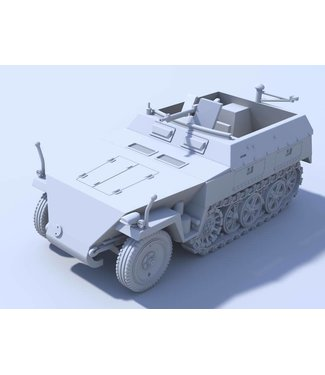 Blitzkrieg Miniatures Neu 250/1 Halftrack - 1/56 Scale
