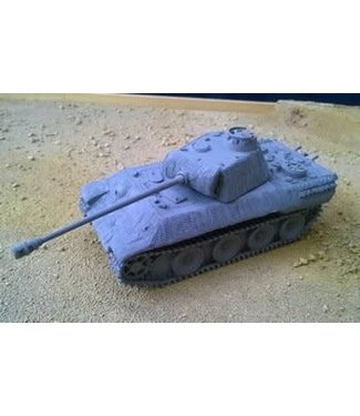 Blitzkrieg Miniatures Panther Ausf A in Zimmerit - 1/56 Scale