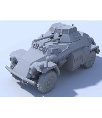 Blitzkrieg Miniatures SdKfz. 222 - 1/56 Scale