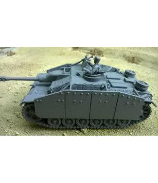 Blitzkrieg Miniatures StuG III Ausf G in Zimmerit - 1/56 Scale