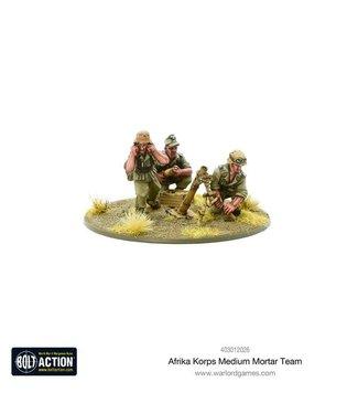 Bolt Action Afrika Korps Medium Mortar Team