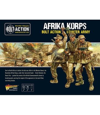 Bolt Action Afrika Korps army deal