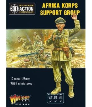 Bolt Action Afrika korps support group