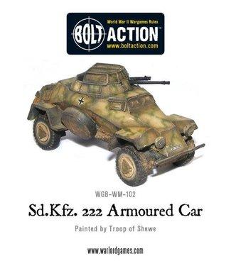 Bolt Action Sd.Kfz 222 Armoured Car