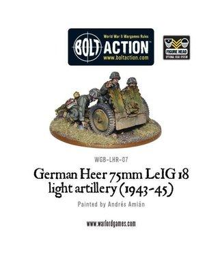 Bolt Action German Heer 75mm leIG 18 light artillery (1943-45)