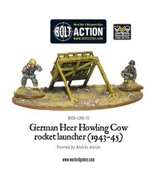 Bolt Action German Heer Howling Cow rocket launcher (1943-45)