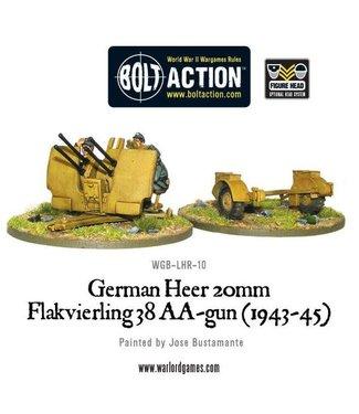 Bolt Action German Heer 20mm flakvierling 38 AA-gun (1943-45)
