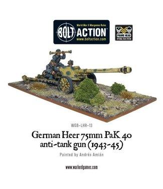 Bolt Action German Heer 75mm PaK 40 anti-tank gun (1943-45)