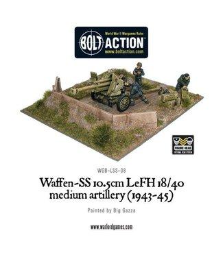 Bolt Action Waffen-SS 10.5cm LeFH 18/40 medium artillery (1943-45)