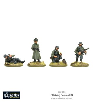 Bolt Action Blitzkrieg German HQ (1939-42)