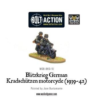 Bolt Action Blitzkrieg German Kradschützen Motorcycle (1939-1942)