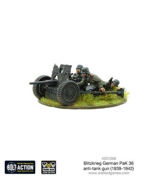 Bolt Action Blitzkrieg German 37mm PaK 36 anti-tank gun (1939-42)