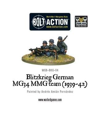 Bolt Action Blitzkrieg German MG34 MMG team (1939-42)