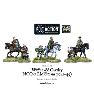 Bolt Action Waffen SS Cavalry NCO & LMG 1942-45