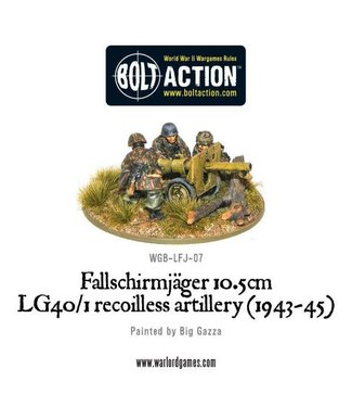 Bolt Action Fallschirmjager 10.5cm LG40-1 recoilless artillery (1943-45)